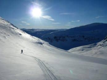 Abisko ski touring