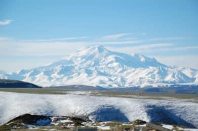 Elbrus north face