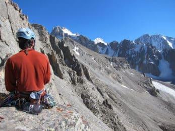 Rock climbing course beginners Ala Archa