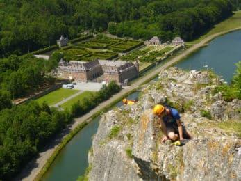 Freyr rock climbing