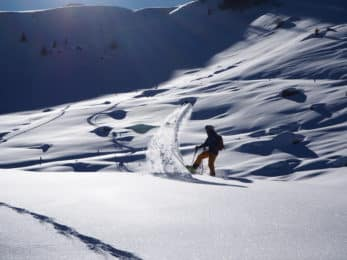 Avalanche Course and freeride ski in Kitzbuhel