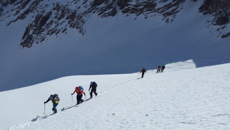 Ski touring in the Terskey Ala-Too range