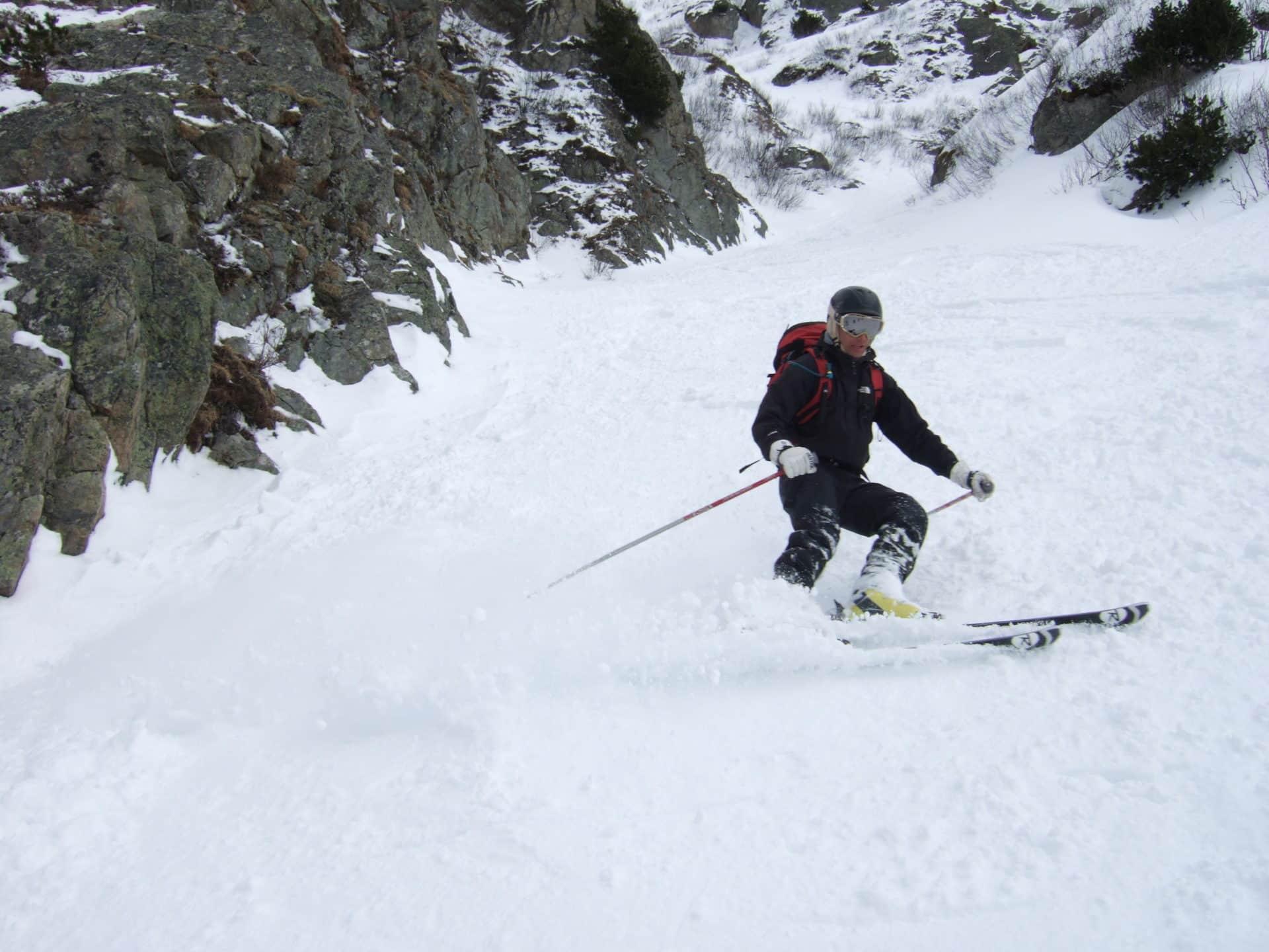 5-day off-piste skiing programme around Chamonix