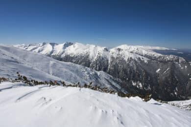Hut to hut ski touring in Rila Mountains Bulgaria