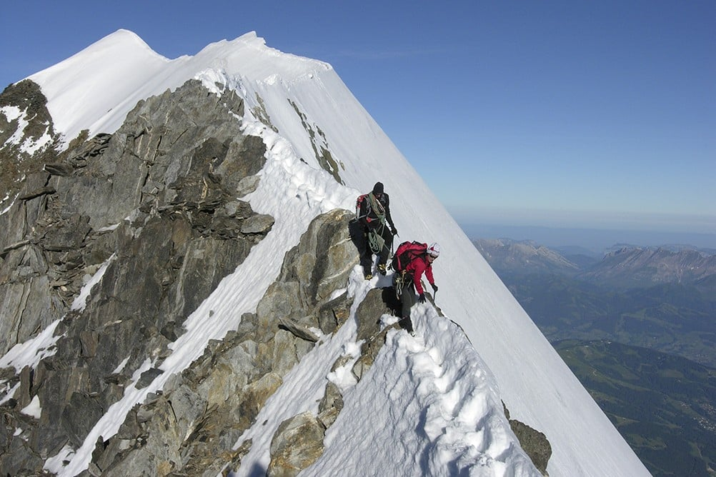 Aiguille de Bionnassay, Normal Route 2-day ascent