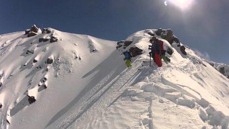 Freeride skiing Andermatt day