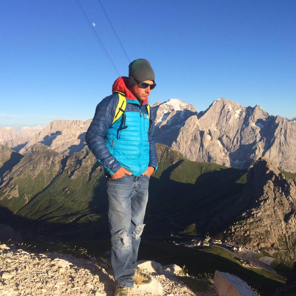 Maurizio Davarda Mountain Guide Dolomites