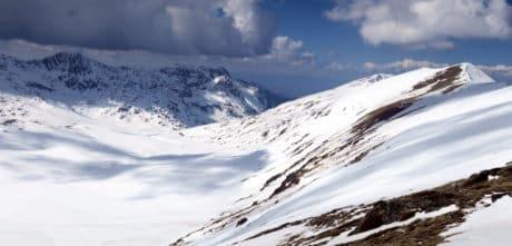 Pirin mountains ski touring