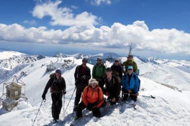 Rila and Pirin ski touring