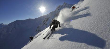 Guided ski touring weekend, Oberalppass. Furkapass, Surselva