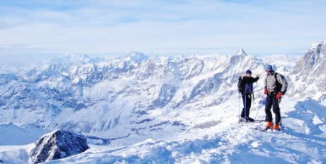 Ski touring 4-day guided program in Switzerland - several locations available