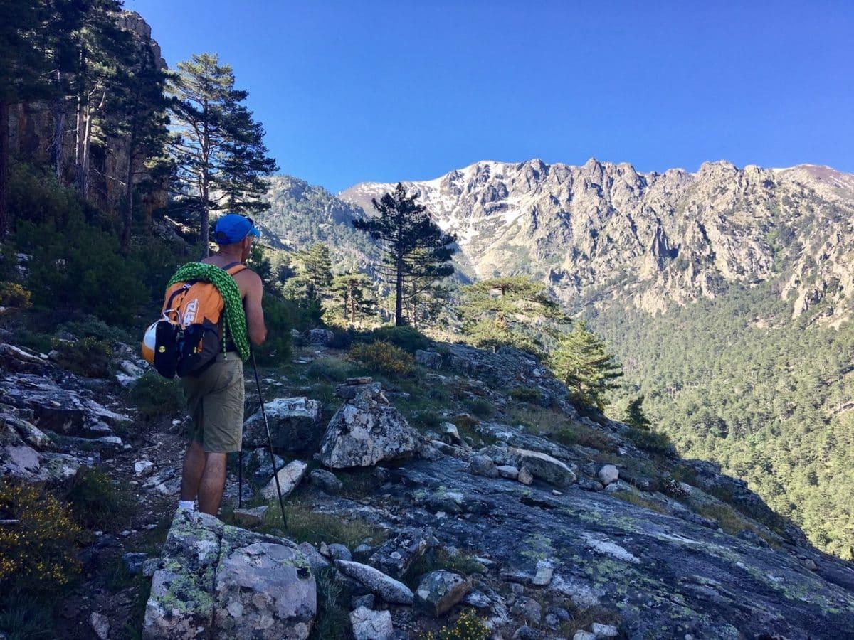 rock climbing in Corsica