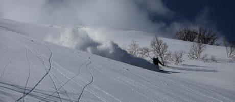 5-day backcountry ski Rishiri