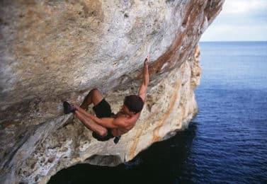 Half-day guided rock climbing in Mallorca