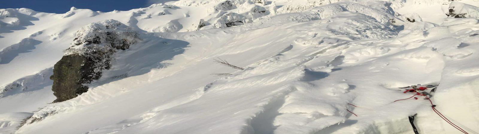 Mt Rishiri winter alpine climb, East Ridge