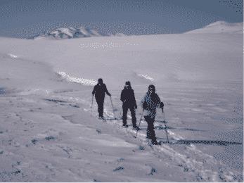 Snowshoeing Navarra