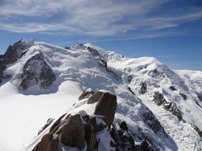 7-day mountaineering tour in Mont Blanc