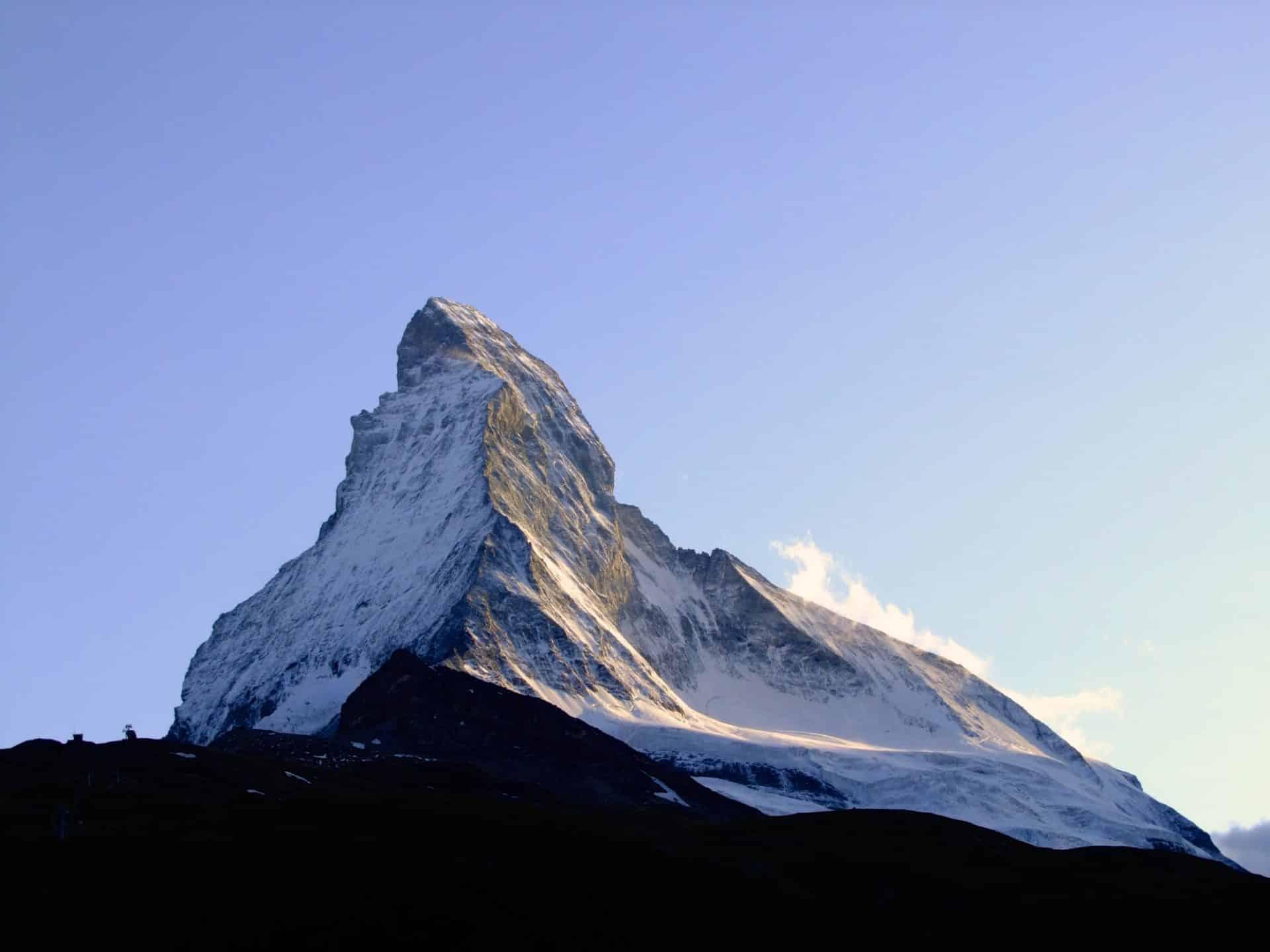 7-day ascent of Mont Blanc and Matterhorn