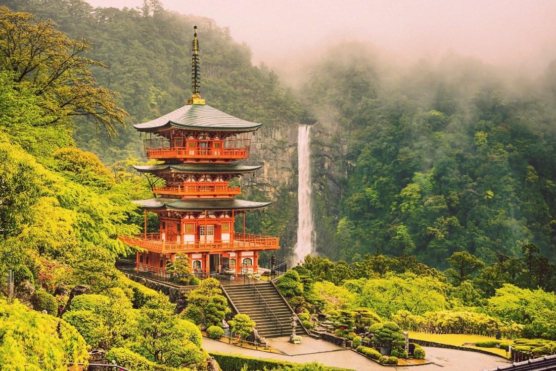 3-day Kumano Kodo and river trek, Japan