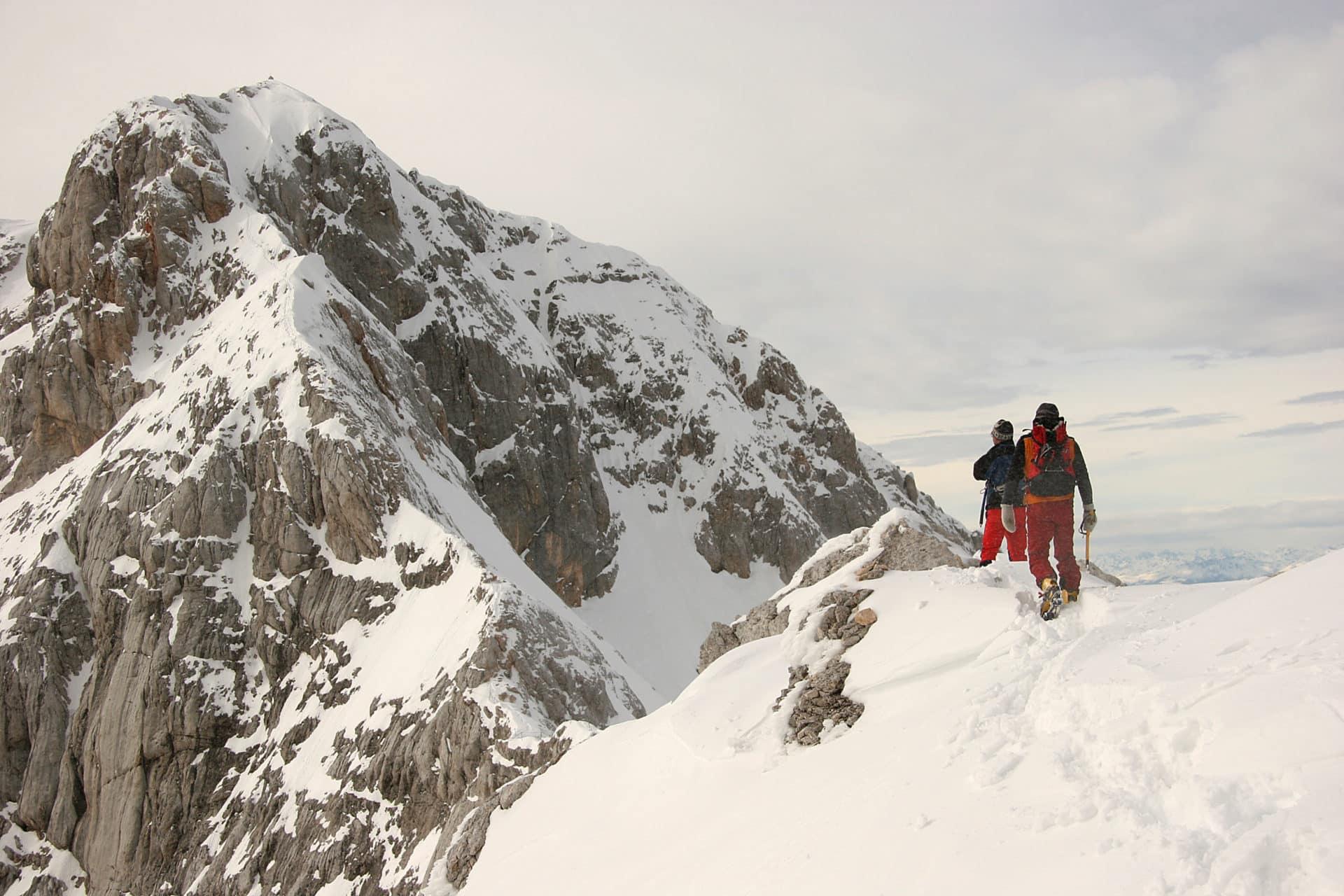 4-day Triglav ski touring traverse with Triglav climb