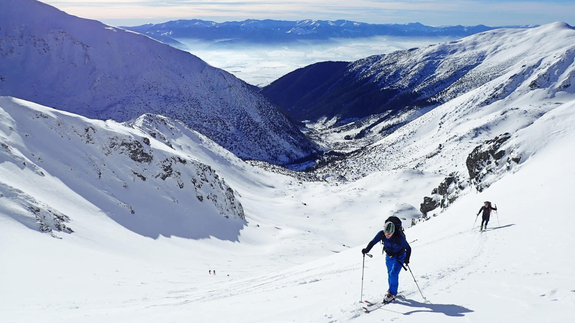 Žiarská Dolina ski touring day trips, West Tatras