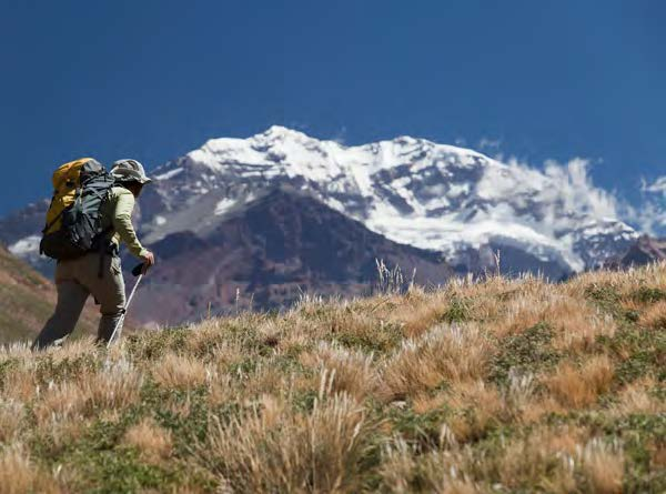 Aconcagua ascent via the normal route (join a group)