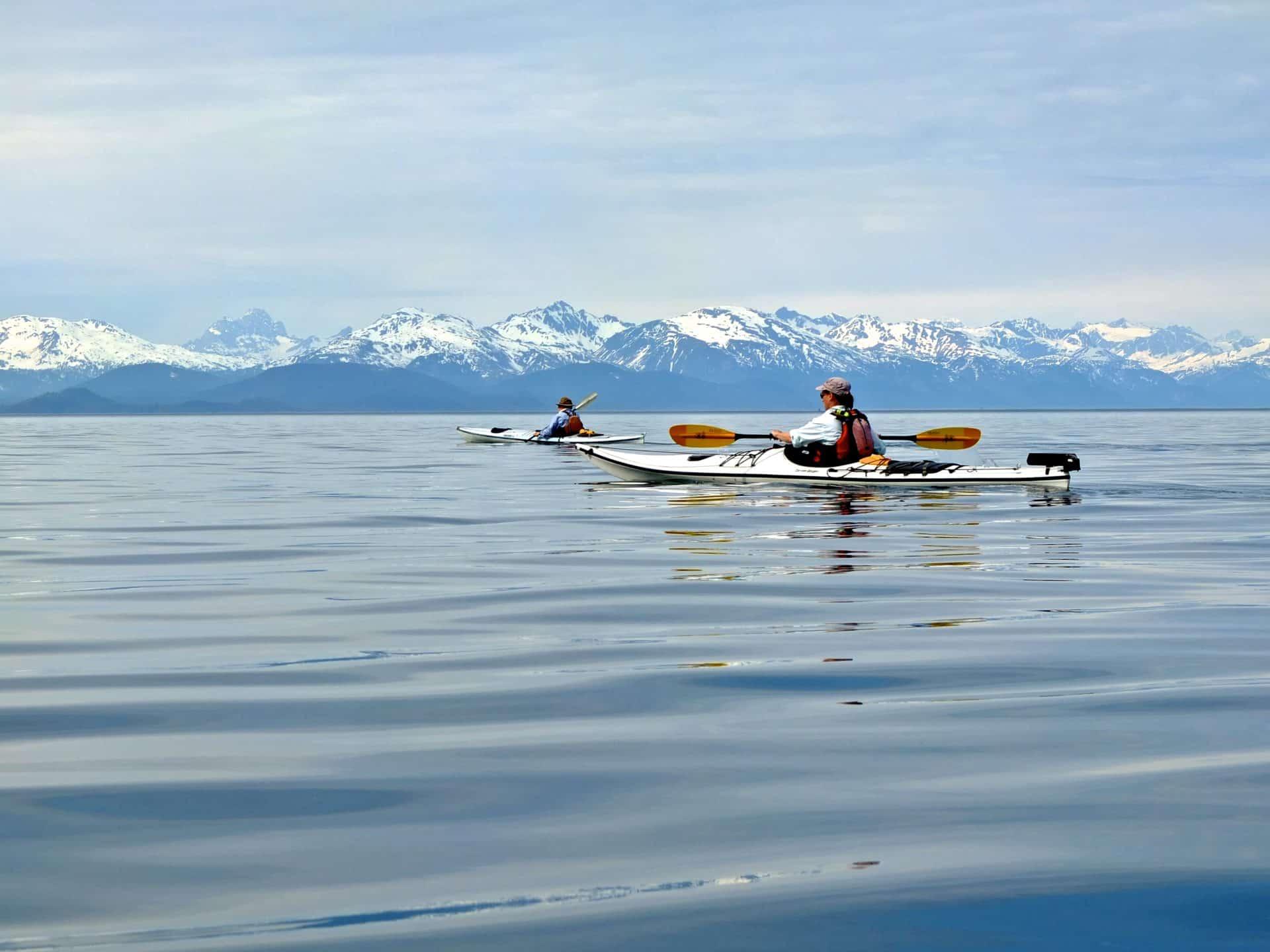1 day kayaking in Lynn Canal, Alaska