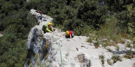 3-day rock climbing course