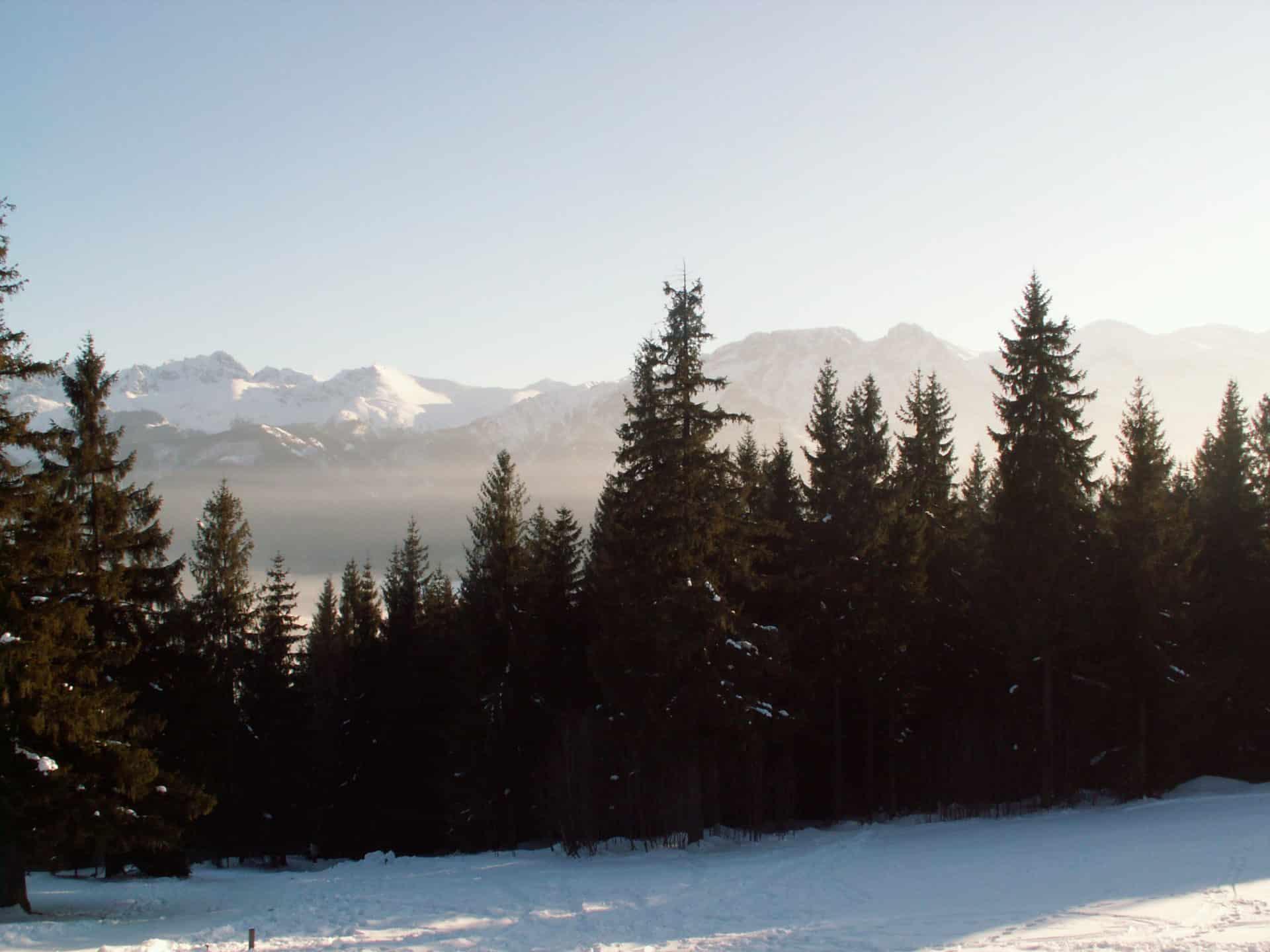 Ski touring in the Tatras in Poland