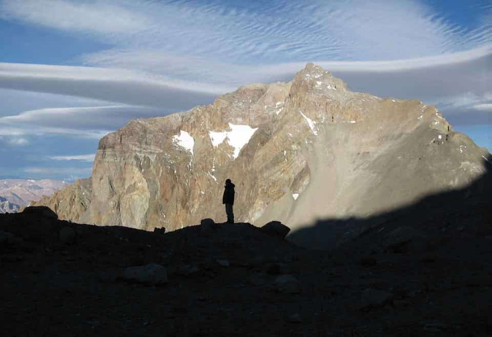 Aconcagua ascent via the northwest route