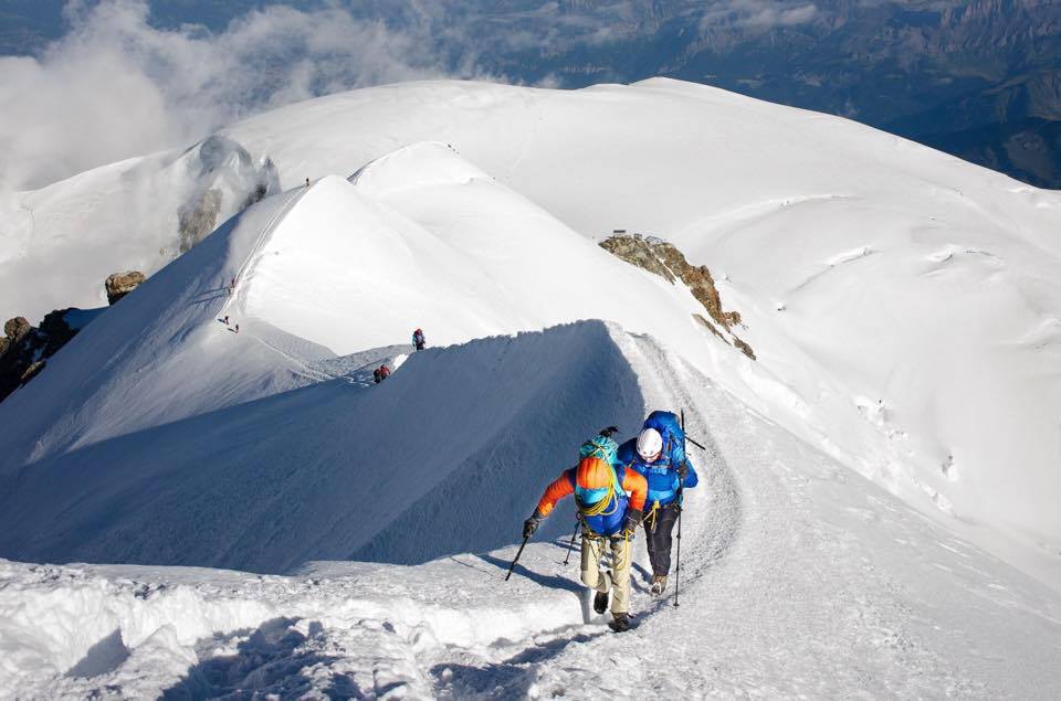 Private Mont Blanc Trois Monts 2-day Ascent