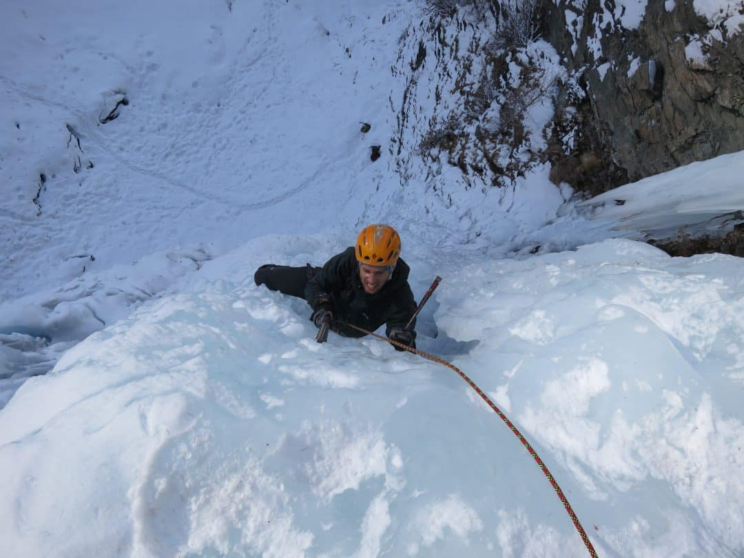2-day Ice Climbing Course in Cogne, Italy