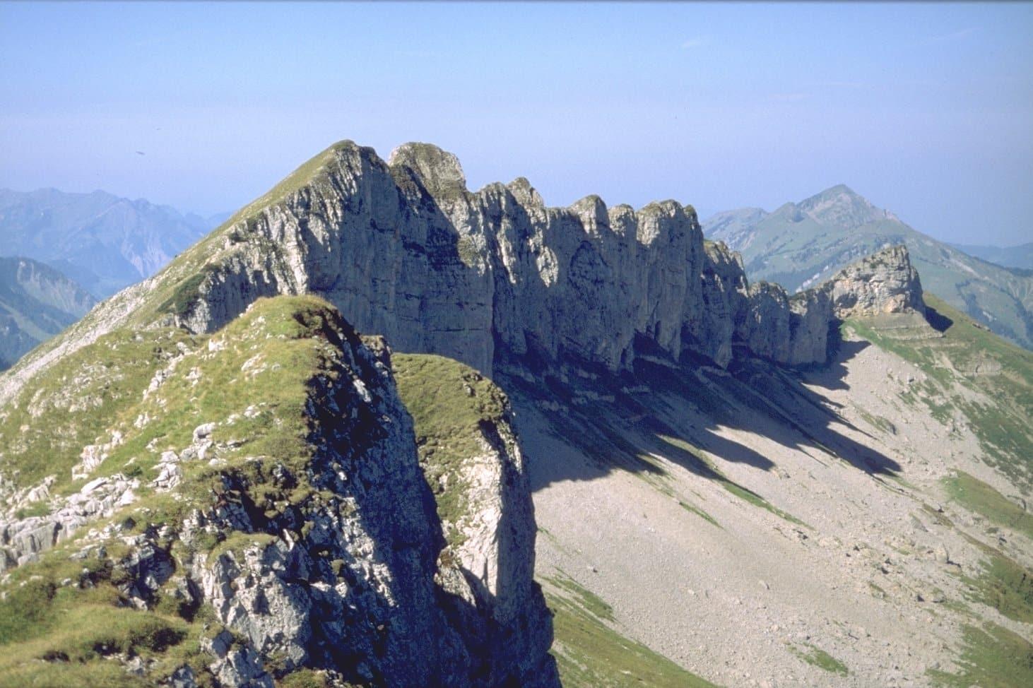 4-day hike to the Gottesacker plateau