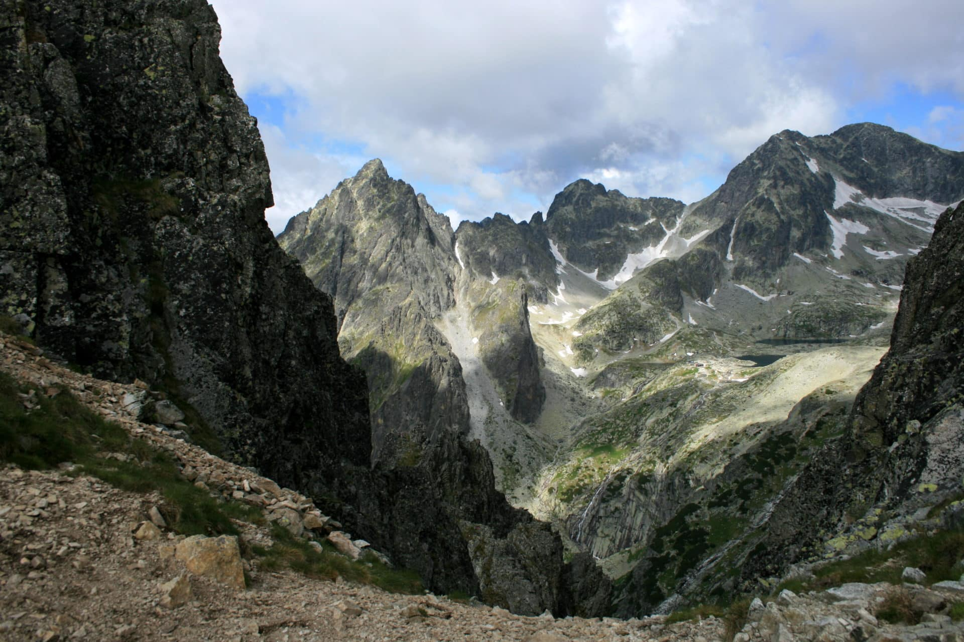 Guided scrambling in High Tatras' secret spots