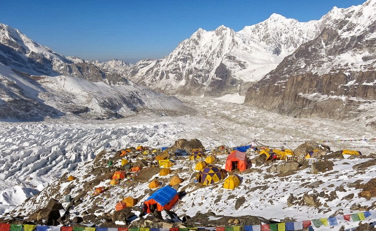 Kanchenjunga Base Camp Trek, 22-day program
