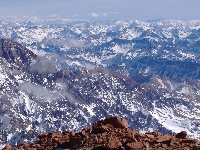 Valle del Colorado-La Ramada Peak Andes Tour