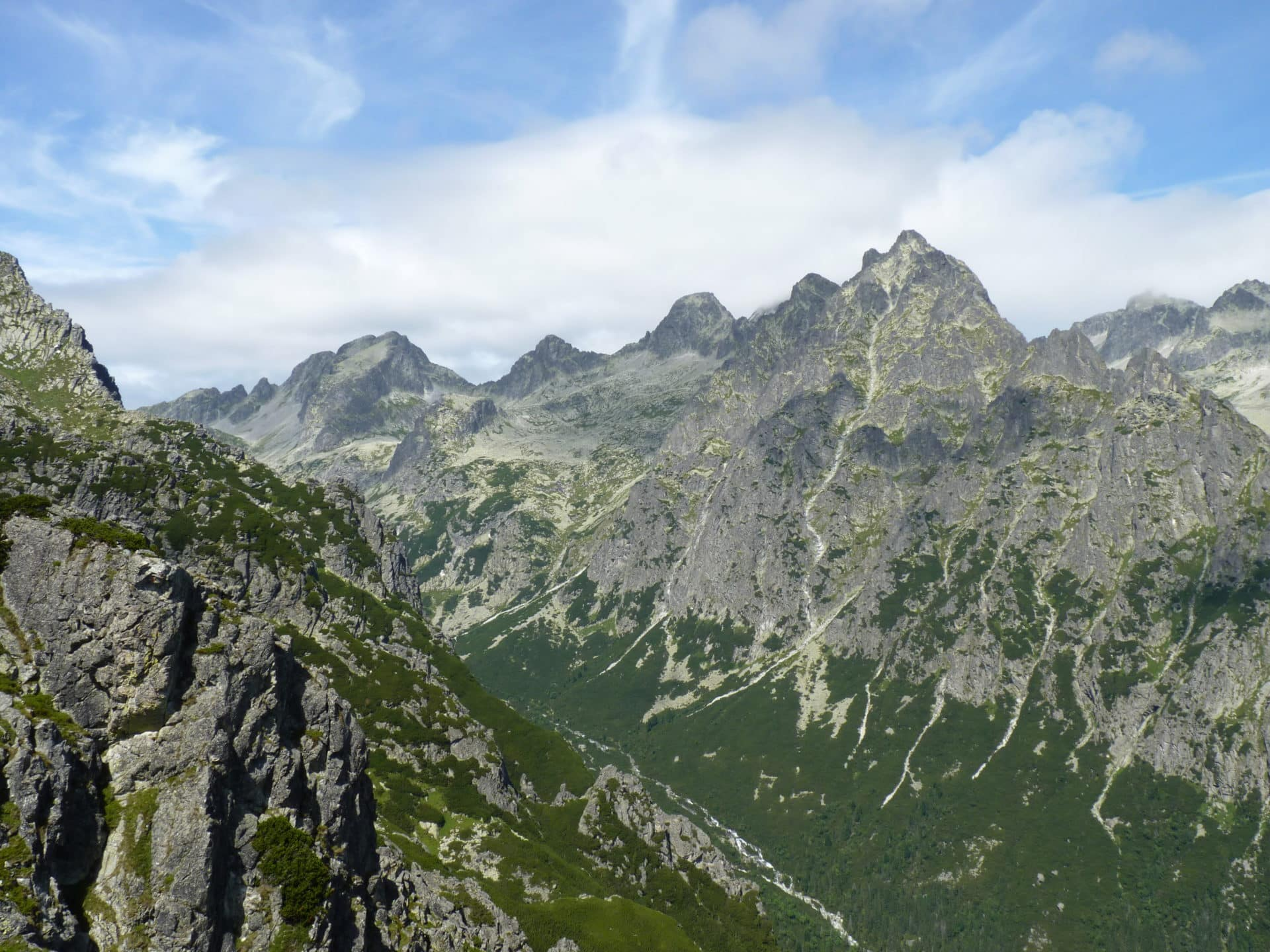 Prostredny hrot guided ascent in the High Tatras