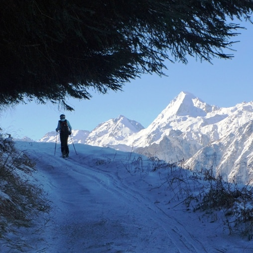 Ski touring initiation in the Pyrenees