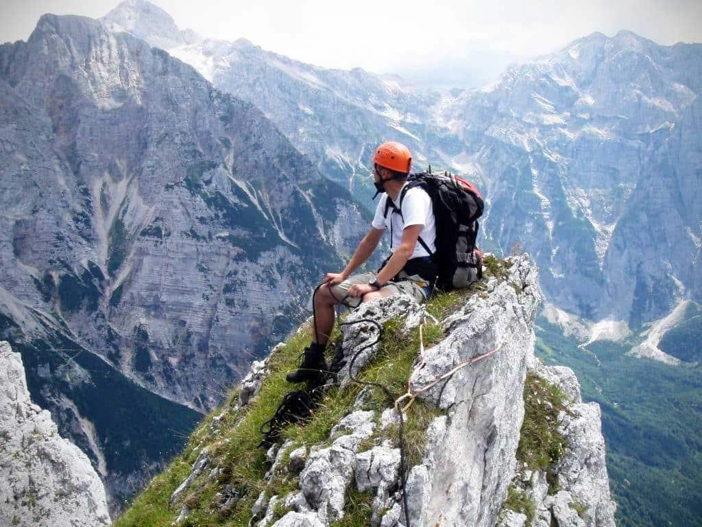 Slovenia ridge traverse