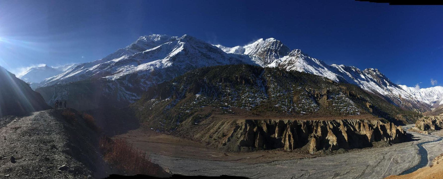 19-day Annapurna trek in the Himalayas
