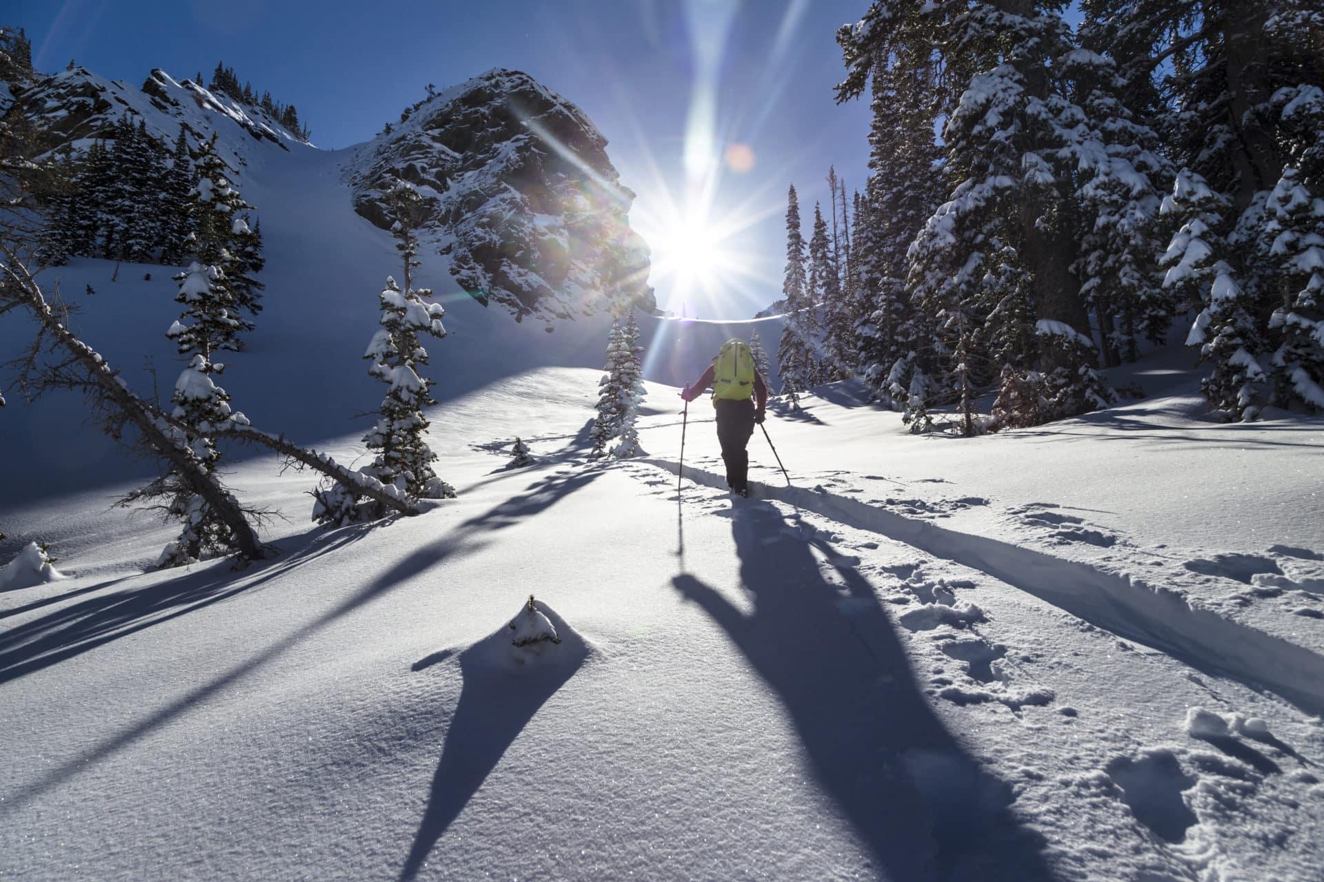 Utah's Wasatch Mountains backcountry ski days