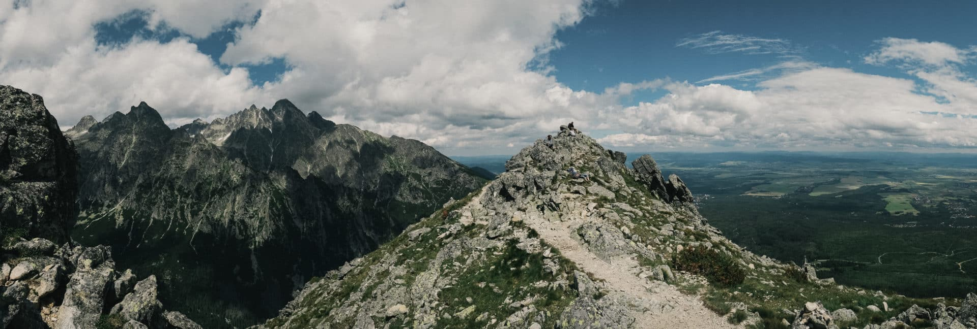 Lomnicky Peak ascent in the High Tatras