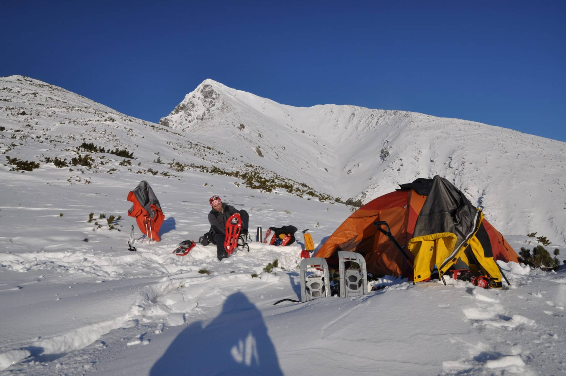 High Tatras guided winter mountaineering
