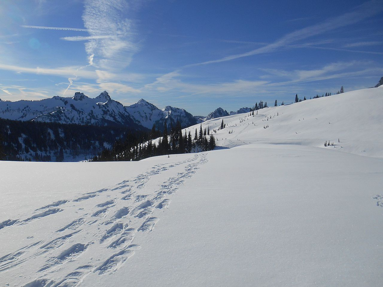 Chablais Snowshoe Traverse: Megevette to Lake Geneva  8-day