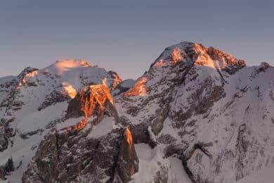 Marmolada, via ferrata Dolomites