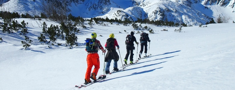 High Tatras guided ski touring day trips