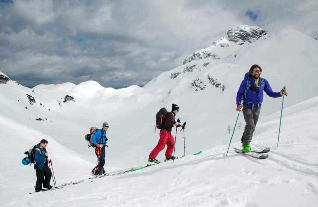 Ski touring in Slovenia