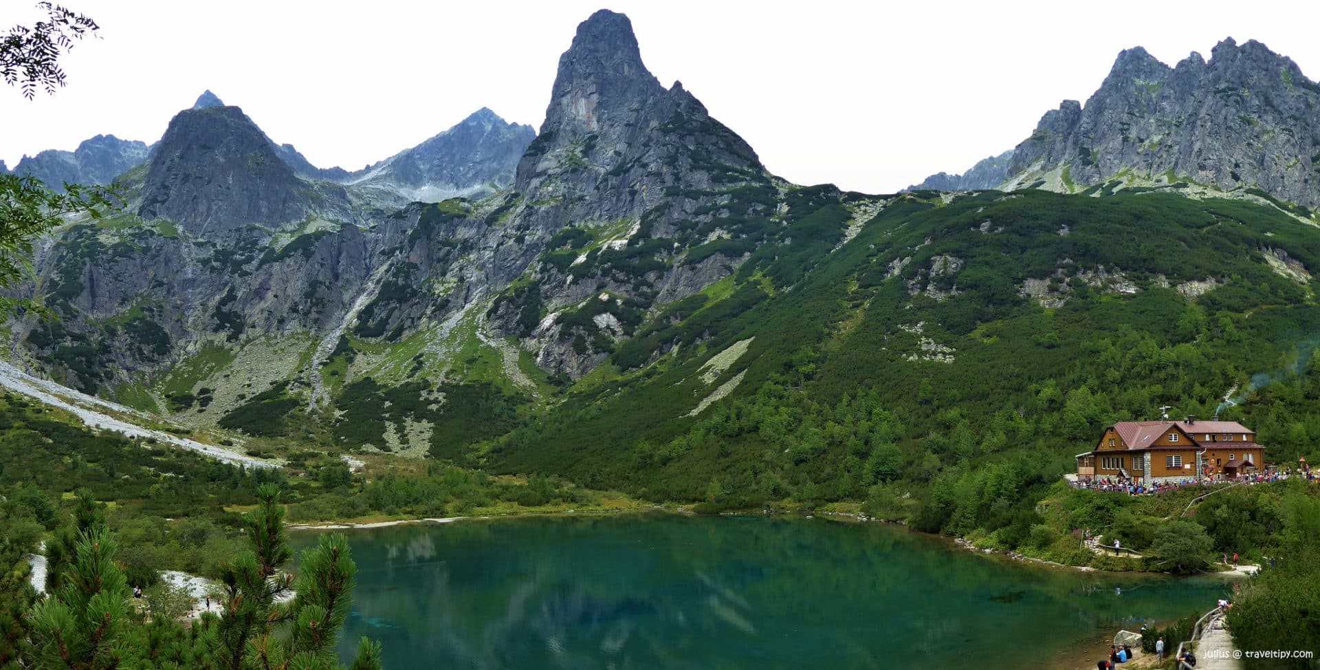 Climbing Baranie Rohy in the Tatras