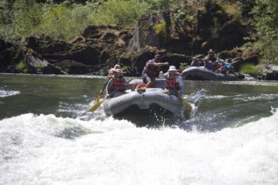 Rogue River rafting and trekking