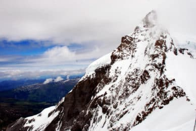 Jungfrau mountaineering ascent